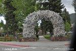 Elk Antler Arches, Jackson, USA