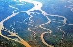 Delta Irrawaday Fluss