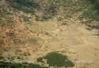 Menschliche Siedlungen in der Savanne